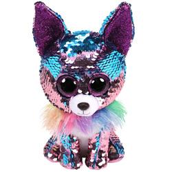 Flippables-Peluche à sequins Yappy le Chihuahua 15 cm