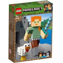 21149-LEGO® Bigfigurine Minecraft Alex et son poulet