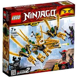 70666-LEGO® Ninjago Legacy Le dragon d'or