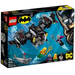 76116-LEGO® DC Comics Le Bat-Sous-Marin de Batman et le combat sous l'eau