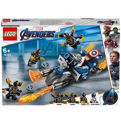 76123-LEGO® Marvel Avengers Captain America et l'attaque des Outriders