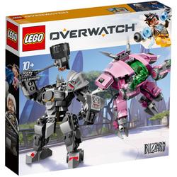 75973 - LEGO® Overwatch D.va et Reinhardt