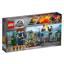 75931-LEGO® Jurassic World L'attaque de l'avant-poste par le Dilophosaurus