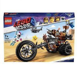 70834-LEGO® Movie 2 Le tricycle motorisé en métal de Barbe d'Acier