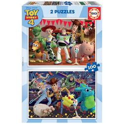 Disney Toy Story 4 - 2 Puzzles 100 pièces