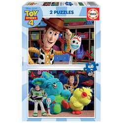 Disney Toy Story 4 - 2 Puzzles 48 pièces