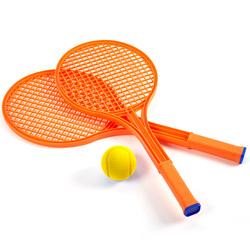 Raquettes de tennis avec balle en mousse