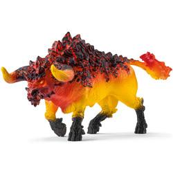 Figurine taureau de feu