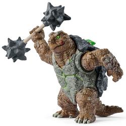 Figurine tortue blindée avec arme