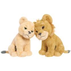 Disney Le Roi Lion-Peluches Simba et Nala 17 cm