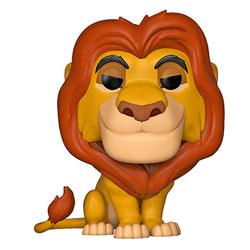 Figurine Mufasa 495 Roi Lion Disney Funko Pop
