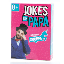 Jeu Jokes de Papa version sucrée