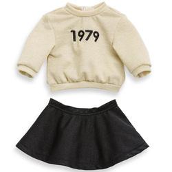Sweat et jupe 1979 pour poupée Ma corolle 36 cm