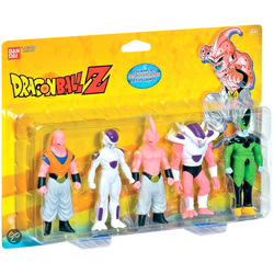 Dragon Ball Z-Pack de 5 figurines