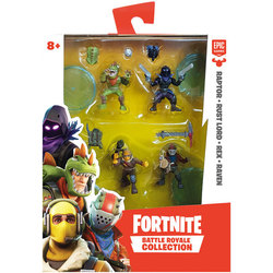 Fortnite-Coffret 4 figurines Battle Royale