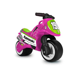 Porteur moto Neox Kawasaki rose