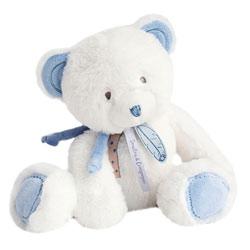 Peluche Attrape rêve ours bleu 30 cm