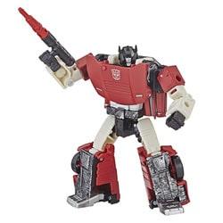 Figurine Sideswipe transformable deluxe - Transformers Siege War for Cybertron