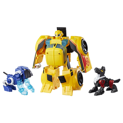 Transformers-Figurine Bumblebee Rescue Guard transformable 25 cm