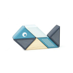 Blocs de bois Tegu Pocket aimanté Buddy Baleine
