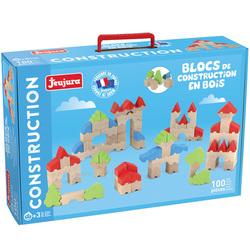 100 blocs de construction en bois