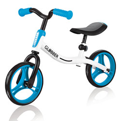 Draisienne Go Bike White-Sky blue