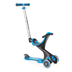 Trottinette Evolutive comfort Sky Bleue