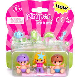 Pinypon bébé pack 3 figurines