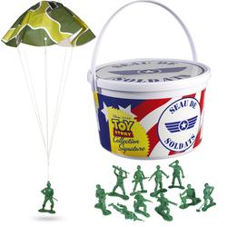 Toy Story 4-Seau de 72 figurines de soldats collection Signature