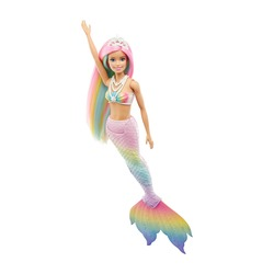 Barbie sirène lumières et danse aquatique