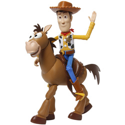 Disney Toy Story 4-Figurines Woody et Pile Poil-Pack Aventure