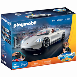 70078 - Playmobil The Movie - Rex Dasher et Porsche Mission E