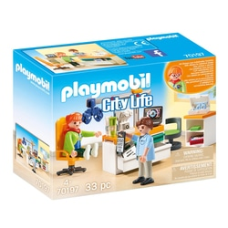 70197 - Playmobil City Life - Cabinet d'ophtalmologie