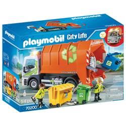 70200 - Playmobil City Life - Camion de recyclage des ordures