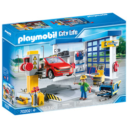 70202 - Playmobil City Life - Garage automobile