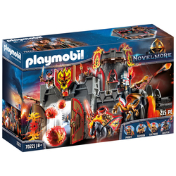 70221 - Playmobil Novelmore - Forteresse volcanique des Burnham Raiders