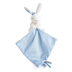 Doudou mouchoir lapin matelot