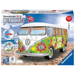 Puzzle 3D Combi T1 Volkswagen Hippie Style 162 pièces