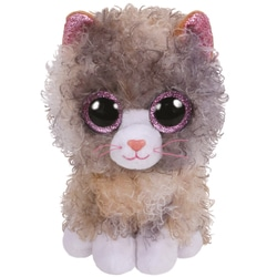 Beanie Boo'S - Peluche Scrappy le chat 15 cm