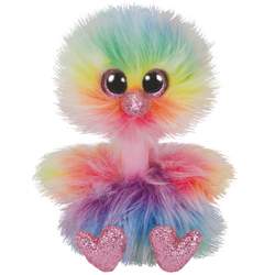 Beanie Boo's - Peluche Asha l'autruche 23 cm