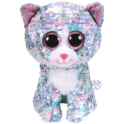 Flippables Medium - Peluche Whimsy le chat 23 cm