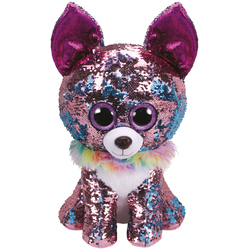Flippables Large - Peluche sequins Yappy le chihuahua 41 cm