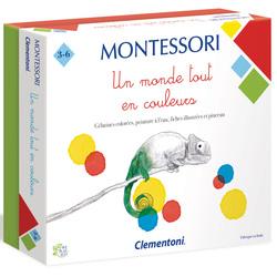 Montessori Un monde tout en couleurs
