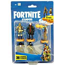 Blister 5 Tampons Personnages Fortnite
