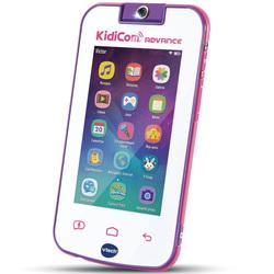 Téléphone KidiCom Advance blanc et rose