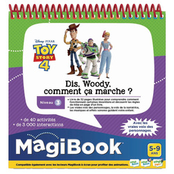 Magibook - Dis Woody comment ça marche - Toy Story 4 Disney