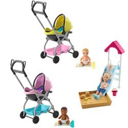 Coffret Barbie Babysitter accessoires