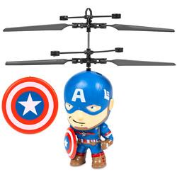 UFO Big Head - Hélicoptère Captain America télécommandé