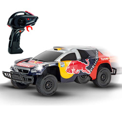 Voiture radiocommandée Peugeot Red Bull Dakar
