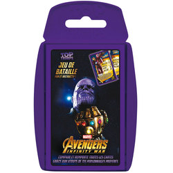 Jeu de cartes Top Trumps Avengers Infinity War